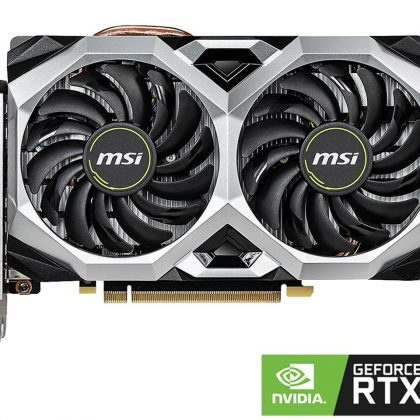 MSI RTX 2060 VENTUS XS 6G OC 6GB Video Card