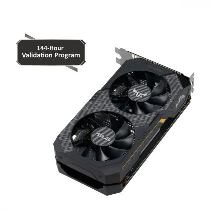 Asus Video Card TUF-GTX1650-O4GD6-P-GAM GeForce GTX 1650 GDDR6 4GB 128Bit PCI Express HDMI/DisplayPort Retail