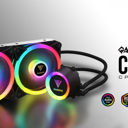 GAMDIAS CHIONE P2-360R 360mm All-In-One CPU Liquid Cooler