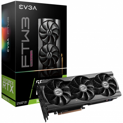 EVGA GeForce RTX 3060 Ti FTW3 ULTRA 8GB Seasonic Focus GM-550 550W 80+ Gold