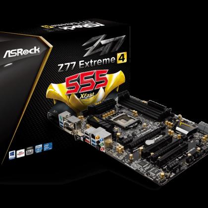 ASRock Z77 EXTREME4 LGA1155/DDR3/SATA3 Motherboard